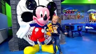 Funny Kid and Toy