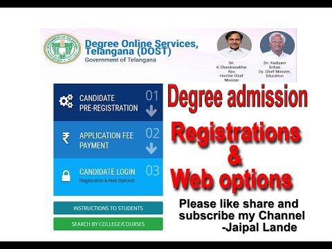 DOST 2018 Web Options  admission registrations ONLINE APPLICATION