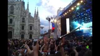 Concerto Radio Italia 11 Maggio 2013 -- Eros Ramazzotti - Più Bella Cosa