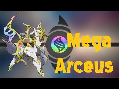 Pokemon Omega Ruby And Alpha Sapphire - Mega Arceus?
