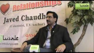 3rd Gupshup forum with Javed Chaudhry at Lahore, Topic: Relationships (Part 2 of 18)