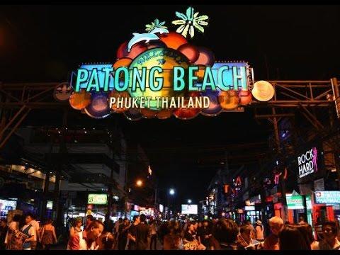 Bangla Road - Patong beach, Phuket Thailand