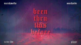 Marshmello x Southside - Been Thru This Before (Feat. Giggs & SAINt JHN) [Lyric Video]