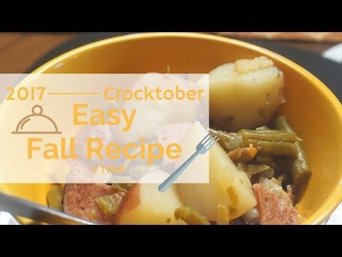 Crocktober Green beans and Potatoes \\ Easy Crockpot Recipe