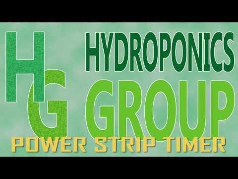 Hydroponic Power Strip Timer