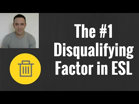 The NUMBER ONE Disqualifying Hiring Factor for ESL English Teacher Jobs Abroad! EFL TESL TESOL