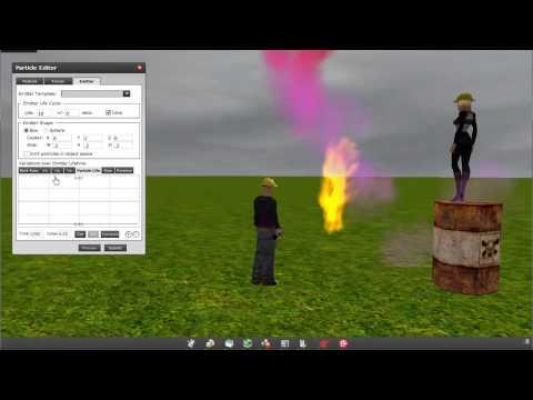 Creating Fire For Kaneva