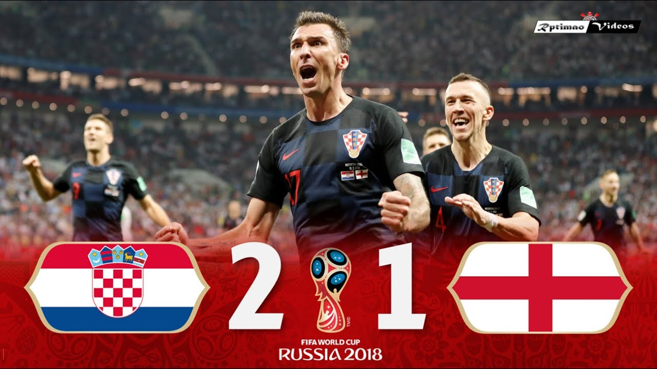 Croatia 2 x 1 England ● 2018 World Cup Semifinal Extended Goals & Highlights HD
