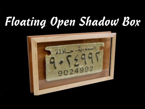 Floating Open Shadow Box