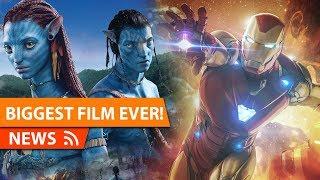 Avengers Endgame Beats AVATAR Box Office BIGGEST FILM EVER