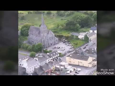 Ballyhaunis, Co.Mayo, Ireland - my hometown, a view from the sky.