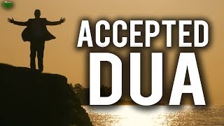 Special Times When Dua Is Accepted