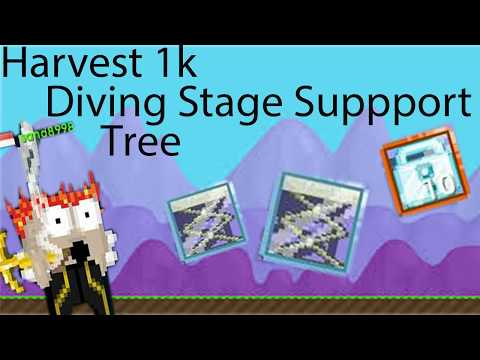 Harvest 1k Diving Board Support Tree || Growtopia