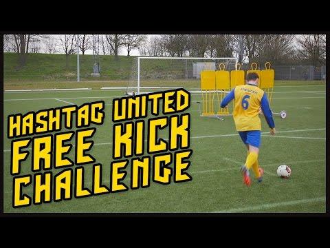 HASHTAG UNITED FREE KICK CHALLENGE!