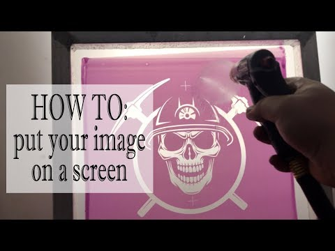 Computer to washout | How to put your image on a screen