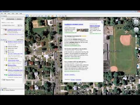 Adding place markers to Google Earth