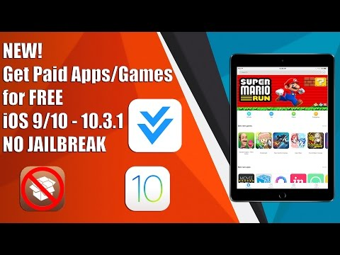 NEW! Get Paid Apps/Games for FREE on iOS 9/10 - 10.3.1 NO JAILBREAK