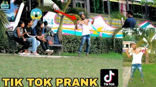 TikTok PRANK PART 2! || BEST TIK TOK PRANK - PRANK IN INDIA || MOUZ PRANK
