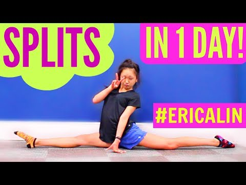 How to do SPLITS - If You're NOT FLEXIBLE!