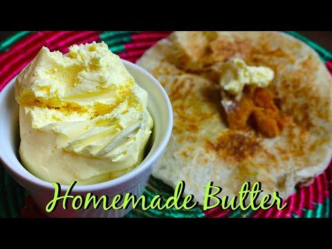 HOW TO MAKE BUTTER *COOK WITH FAIZA*