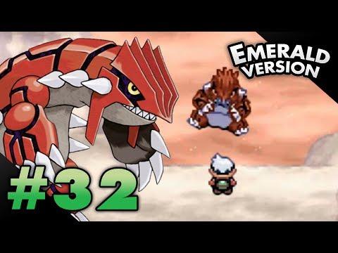 Let's Play Pokemon: Emerald - Part 32 - GROUDON