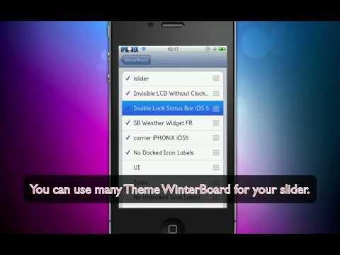 Lockscreen Clock Hide iOS 5