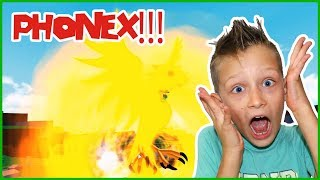 BEING PHONEX in ROBLOX!!!