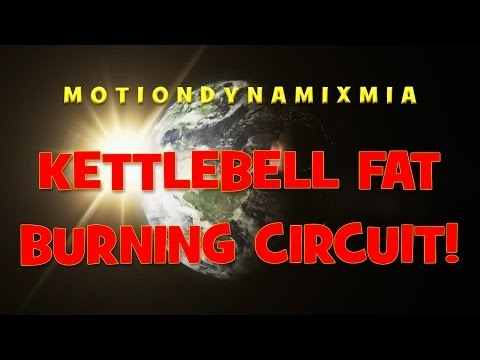 Total Body Kettlebell Fat Burning Workout!