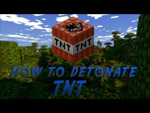 How to Blow Up TNT In Creative Mode & Survival Mode in Minecraft Tutorial Eps. 2