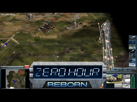 Zero Hour Reborn Mod! - Command and Conquer Generals: Zero Hour