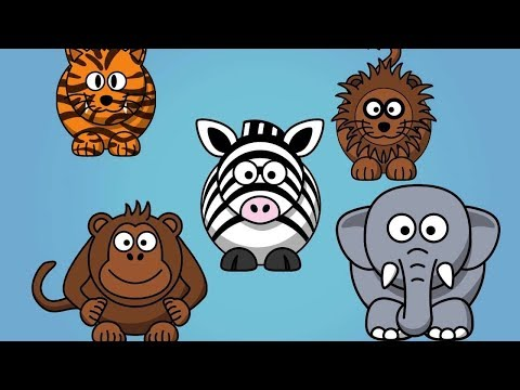 Animal Sounds Song - Lets go to the Farm & Zoo!