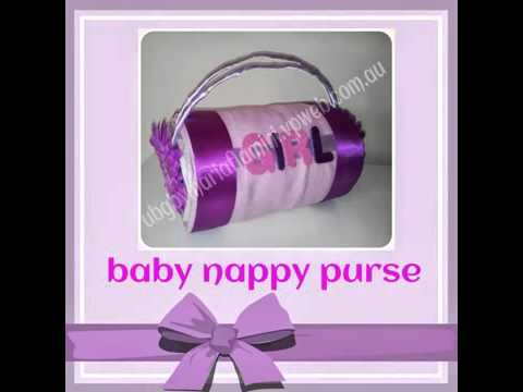 Unique Baby Gifts Perth - Nappy Cakes