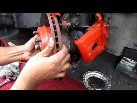 Front Brake Pads, Rotors & Caliper Replacement: Toyota / Lexus