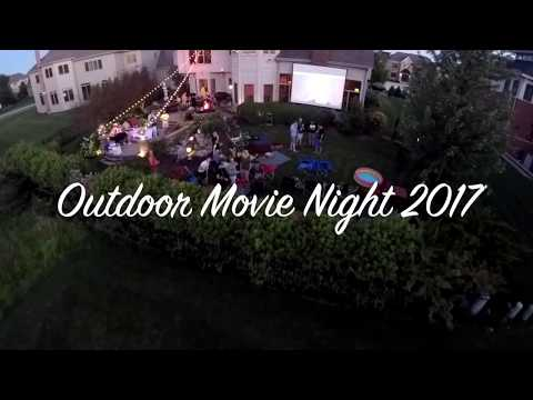 Outdoor Movie Night 2017