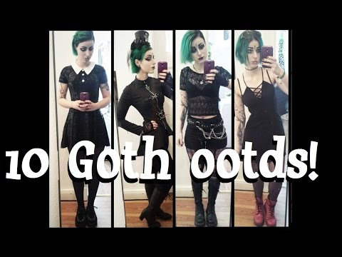 Everyday Goth Outfits #06 | lilachris