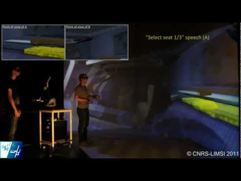 MalCoMIICs Demo - Virtual Reality - IEEE VR 2011