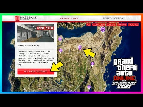 GTA Online The Doomsday Heist DLC - Which Facility Is the Best? - Price, Locations, Features & MORE!