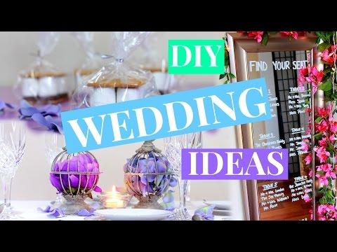 3 EASY WEDDING DECOR IDEAS | WEDDING DIY | NIA NICOLE