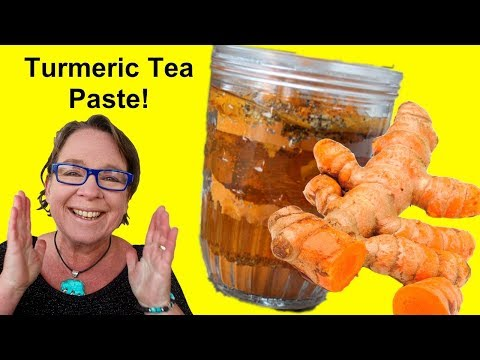 ✅ Turmeric Tea Paste with Ginger, Conveniently Packaged if You're on the Go!