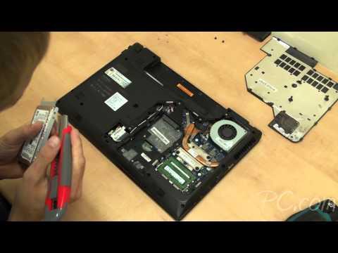 How To Lenovo G570 hard drive 2.5