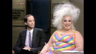 John Waters (& Divine) on Letterman, Part 1 of 3: 1982