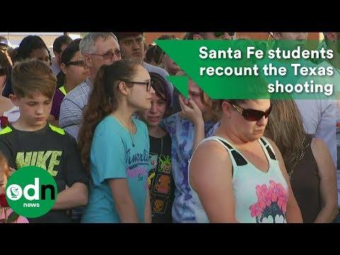 Santa Fe student eyewitnesses recount the Texas shooting