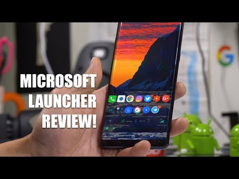 Microsoft Launcher Review! [Android App]