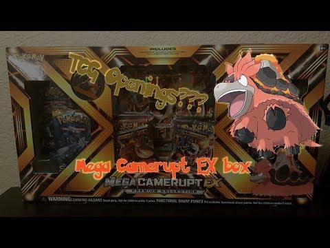 Pokemon Cards?? Let the Addiction Begin! Mega Camerupt Ex Box opening