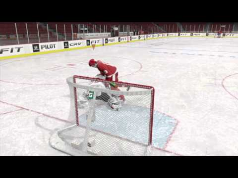 NHL® 15 How to kill the goalie