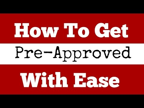 How to Get Pre-Approved to Buy a House with Ease!