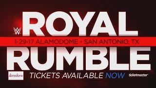 WWE : Royal Rumble 2017 Promo