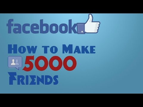 How to add 5000 friends in your facebook account Fast!!