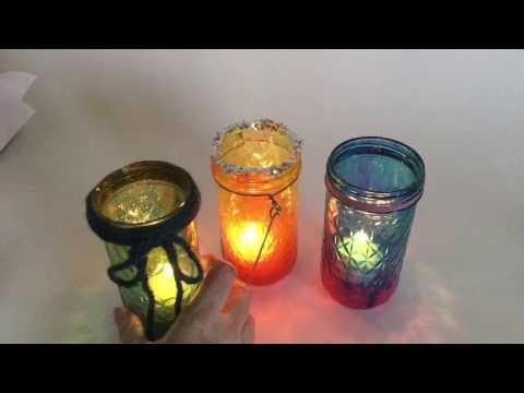 Galaxy/Tie Dye Mason Jars - Part 2