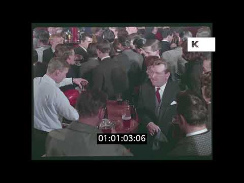 Friday Night in the 1960s, English Pub, HD from 35mm | Kinolibrary